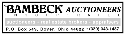 Bambeck Auctioneers Inc